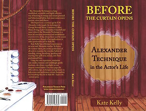 Before the curtain opens - for performers. Cover
